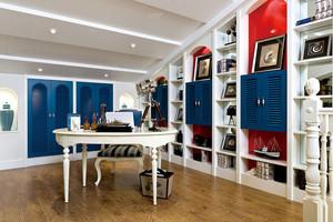 120平米富有浓厚地中海人文风情的两室一厅装修效果图