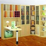 韩式清新风格书房书柜装饰