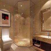 三室一厅简欧风格卫生间设计