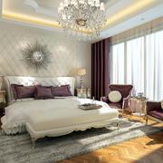 欧式风格别墅卧室效果图