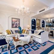 两室一厅地中海风格客厅装饰