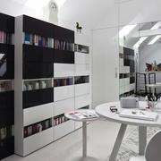 后现代风格阁楼书房装饰