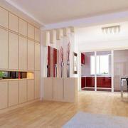 小户型客厅整体橱柜设计