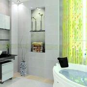 后现代风格卫生间浴缸效果图