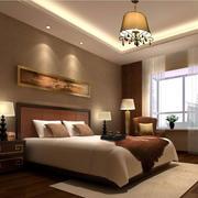 欧式简约风格床头背景墙