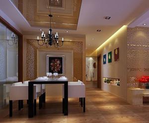 欧式风格餐厅背景墙设计