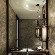 三室一厅榻榻米房灯饰设计