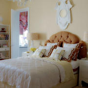 卧室欧式简约风格背景墙装饰