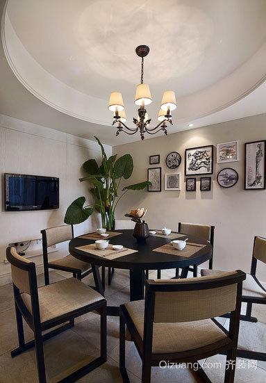 餐饮时光:2015各种款式家居餐厅装修效果图