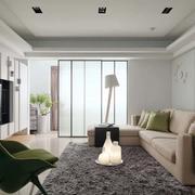 老房简约风格客厅地毯设计