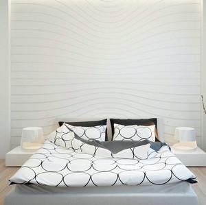 复古格调十足的别墅小卧室装修效果图