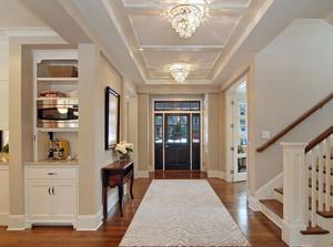 走出来的时尚:全新家居走廊过道吊顶装修效果图