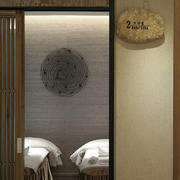 美容院包厢门饰设计