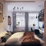 小户型卧室置物架装饰
