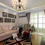 美式别墅客厅灯饰装饰
