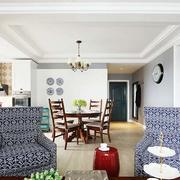 公寓简约风格客厅沙发装饰