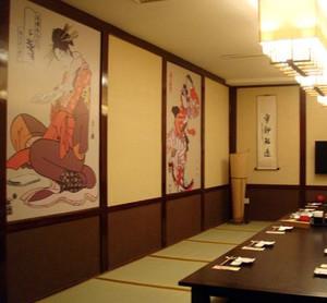 150平米高档日式料理店装修效果图