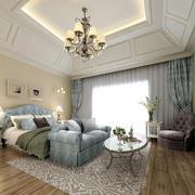 别墅大型窗帘装饰