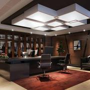 后现代风格办公室灯饰设计