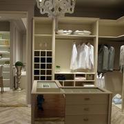 欧式别墅大型衣柜效果图