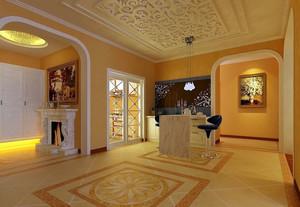 欧式奢华客厅装饰