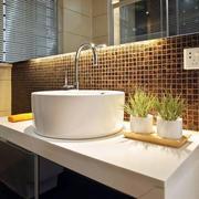 120平米卫生间洗漱池装饰