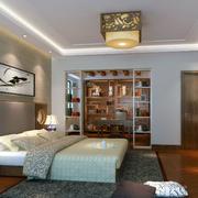 中式风格别墅卧室装修