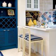 两室一厅厨房吧台设计