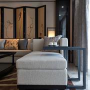 美式别墅客厅隔断装饰