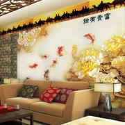 简约风格客厅艺术背景墙