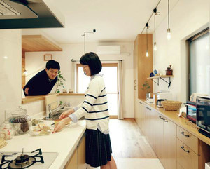 小型公寓厨房装修效果图展示