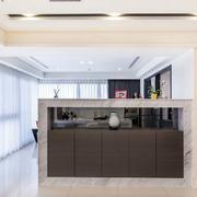 后现代风格公寓客厅吧台装饰