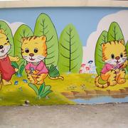 幼儿园外墙装饰效果图