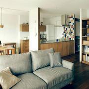 小户型混搭客厅沙发装饰