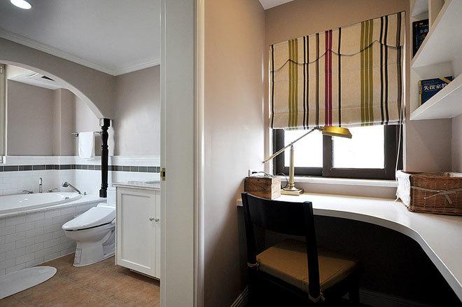 100平米纯净环保无污染的简约新中式房屋装修图