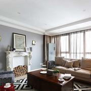 简约欧式公寓客厅设计