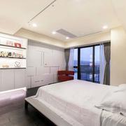 后现代风格公寓简约卧室窗户装修