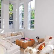 美式白色混搭风格样板间装修