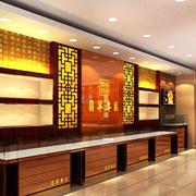 中式风格展示柜装修