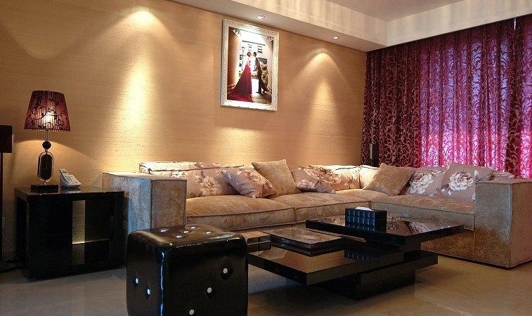 爱细节,重品质的轻奢两室一厅婚房装修效果图