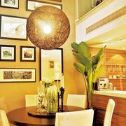 欧式混搭风格餐厅创意灯饰