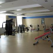 简约风格健身房木制地板