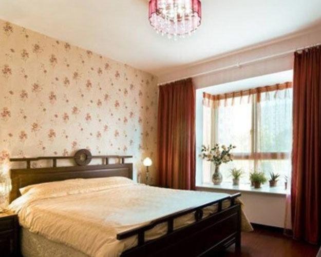 2015全新各式各样卧室窗帘装修效果图