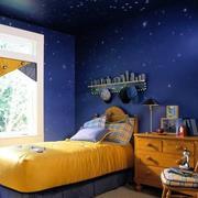 简约风格儿童房3D壁纸装饰