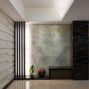 别墅客厅石膏板墙面设计