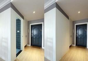 欧式简约风格公寓玄关装修效果图