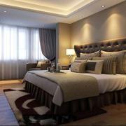 欧式简约风格卧室浅色地板装饰