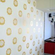 卧室背景墙液体壁纸