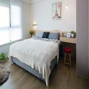 小户型美式简约卧室背景墙设计