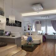 公寓简约客厅设计